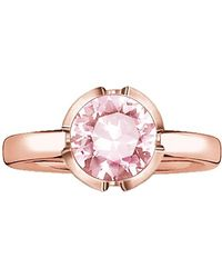 "Thomas Sabo , Ring ""rosa Zirkonia Rosè Vergoldet"" - Pink"