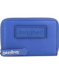 Desigual , Full Color Marisa Geldbörse 13,5 Cm - Blau