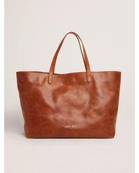 Golden Goose Pasadena Bag(タンカラー) フロントロゴ(ゴールド) - ブラウン