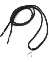 Sheryl Lowe - Wishbone Wrap Necklace - Lyst