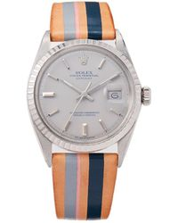 La Californienne Rolex Oyster Perpetual Stainless Steel Watch - Multicolor