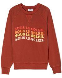 FRAME - Sous Le Soleil Sweatshirt - Lyst