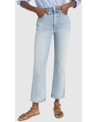 AMO - Bella High-rise Slight Boot Jeans - Lyst
