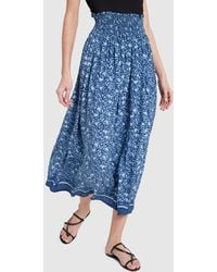 Natalie Martin Bella Printed Skirt