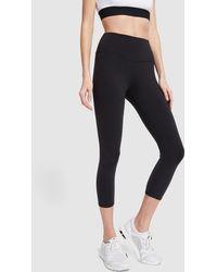 Alo Yoga High-waist Airbrush Capri - Black