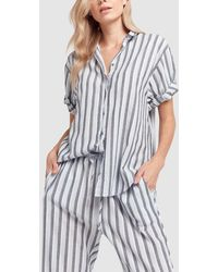 Xirena - Everton Striped Cotton Channing Shirt - Lyst