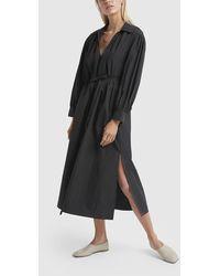 Co. Long-sleeve V-neck Dress - Black