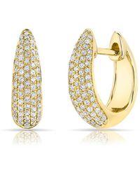 Anne Sisteron - Bold Huggie Earrings - Lyst