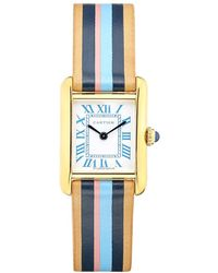 La Californienne Small Bluebell Cartier Tank Watch