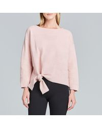 Maison Ullens Graphic Knit Sweater - Pink