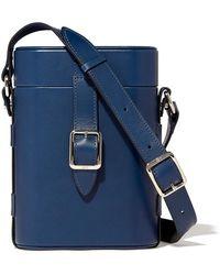 OFFICINA DEL POGGIO Mini Safari Handbag - Blue