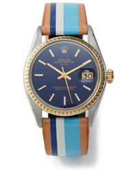 La Californienne Rolex Oyster Perpetual Watch, 34mm Watch - Multicolor