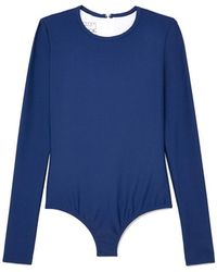 Cover - Long-sleeved Swimsuit - Lyst