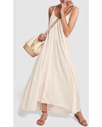 9seed - Tulum Cotton Maxi Dress - Lyst