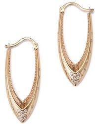 Venyx Parrot Star Fish Earrings - Metallic