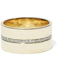 Eriness Cigar Pavé Diamond Band - Multicolor