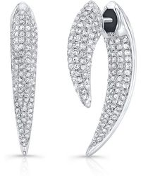 Anne Sisteron - Sabre Earrings - Lyst