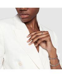 Hoorsenbuhs - Id Tri-link Sterling Silver Bracelet - Lyst