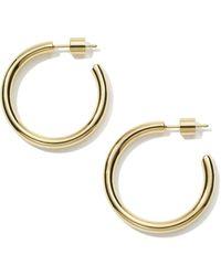 Jennifer Fisher Goop Hoops Earring - Metallic