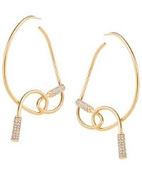 Joanna Laura Constantine Safety Pin Statement Earrings 3rKw1D0cK