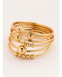 Gorjana & Griffin - Newport Stacking Ring Set (set Of 6) - Lyst