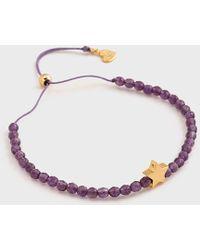 Gorjana - Mini + Me Power Gemstone Star Bracelet For Tranquility - Adult - Lyst