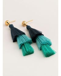 Gorjana & Griffin - Havana Tassel Earrings - Lyst