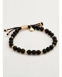 Gorjana & Griffin - Power Gemstone Black Onyx Beaded Bracelet For Protection - Lyst