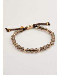 Gorjana & Griffin | Power Gemstone Smoky Quartz Beaded Bracelet For Grounding | Lyst
