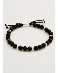 Gorjana & Griffin | Power Gemstone Black Onyx Beaded Bracelet For Protection | Lyst
