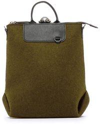 Graf & Lantz Bedford Backpack Mini Felt - Green