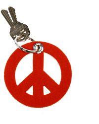 Graf & Lantz Key Fob Peace - Orange