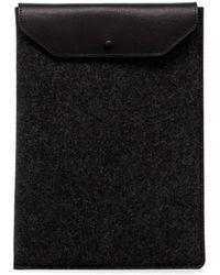 "Graf & Lantz Macbook Pro Sleeve 15"" - Black"