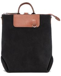 Graf & Lantz Bedford Backpack Mini Suede - Black
