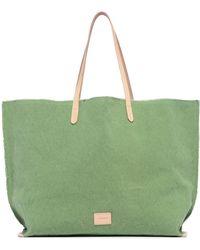 Graf & Lantz Hana Boat Bag Canvas - Green