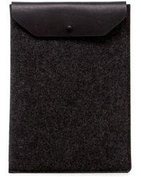 """Graf & Lantz Laptop Computer Sleeve 15"""" - Black"""