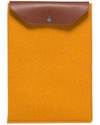 "Graf & Lantz Macbook Pro & Air Sleeve 13"" - Orange"