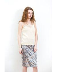 Raquel Allegra - Crochet Camisole - Lyst