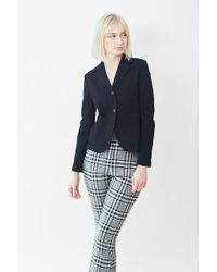 Harris Wharf London - Patch Pocket Fitted Blazer - Lyst