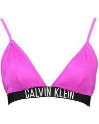 Calvin Klein Costume Parte Sopra - Viola