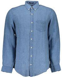 GANT Camicia Maniche Lunghe - Blu