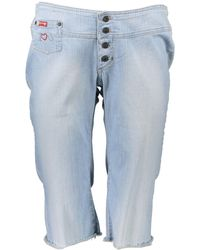 Guess Jeans Pinocchietto - Blu