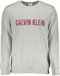 Calvin Klein Pigiama Sopra - Grigio