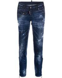 DSquared² Jeans Jennifer crop - Blu