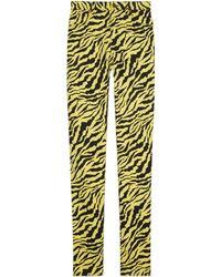 Gucci - Pantalon ajusté en jean - Lyst