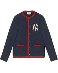 Gucci - Herren Jacke mit NY-YankeesTM -Patch - Lyst