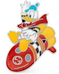 Gucci Broche Donald Duck Disney x - Multicolor