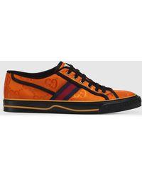 Gucci Off The Grid Herrensneaker - Orange