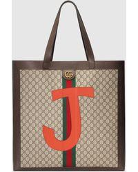 Gucci DIY Ophidia Maxi Shopper aus GG Supreme - Rot