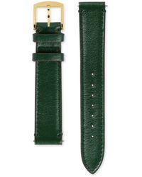 Gucci Grip Armband aus Leder, 35 mm - Grün